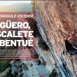 Apertura del árticulo Triángulo Oscense de la revista Escalar 104.  ()