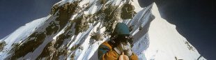 Rafael Vidaurre y Coque Pérez pisaron la cima del Everest el 6 de octubre de 1991.  ()