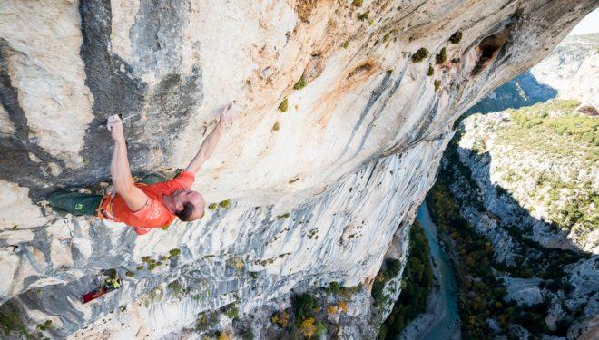 Cédric Lachat en Hosanna (160 m