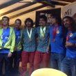 Ganadores categoría masculina Rally 12h El Chorro  ()