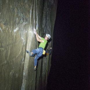 Adam Ondra en el Dawn Wall  (Foto: Heinz Zak)