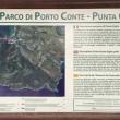 Mapa hacia Punta Giglio en Cerdeña  ()