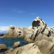 Rocas de Capo Testa en Cerdeña  ()
