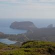 Panorámica sobra la Isola Piana en Cerdeña  ()