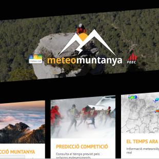 Web de meteorología de montaña de Cataluña  ()