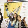 Podio femenino de la Copa de España de Bloque 2016: 1ª.- Francis Guillén. 2ª.- Mari Alarcón. 3ª.- Maja Jonjic.  (Darío Rodríguez/Desnivel)