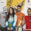 Podio femenino y masculino de la última prueba de la Copa de España de Bloque 2016