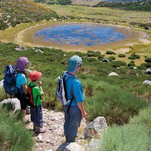 Laguna de Cervunal en la Sierra de Gredos  ()