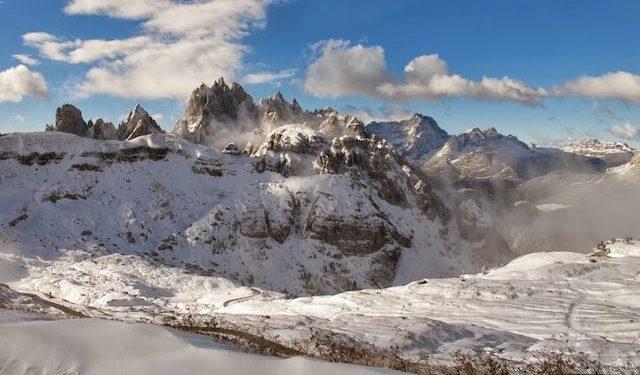 Imagen invernal en Dolomitas  (Col. D. MacLeod)