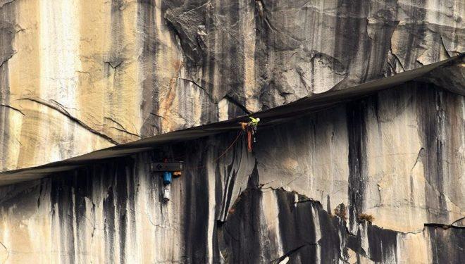 Marek Raganowicz Regan en Plastic surgery disaster en El Capitan  (Foto: Tom Evans)