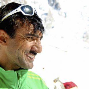 El escalador pakistaní Ali Sadpara en el Nanga Parbat. Invierno 2015  (©Alex Txikon)