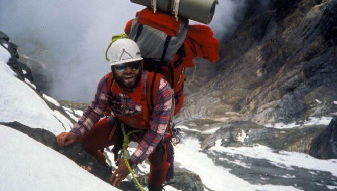 Quico Dalmases en la expedición al Dhaulagiri en 1989.  (©Jordi Canyameres)