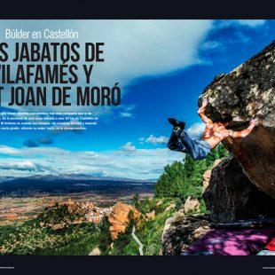 Artículo: Búlder en Castellón en la revista Escalar nº 105.  ()