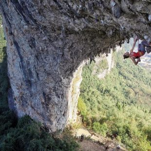 Jain Kim en China climb 8c al flash