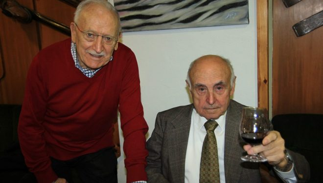 Julián Vicente (Nanín) y Ricardo Arantegui