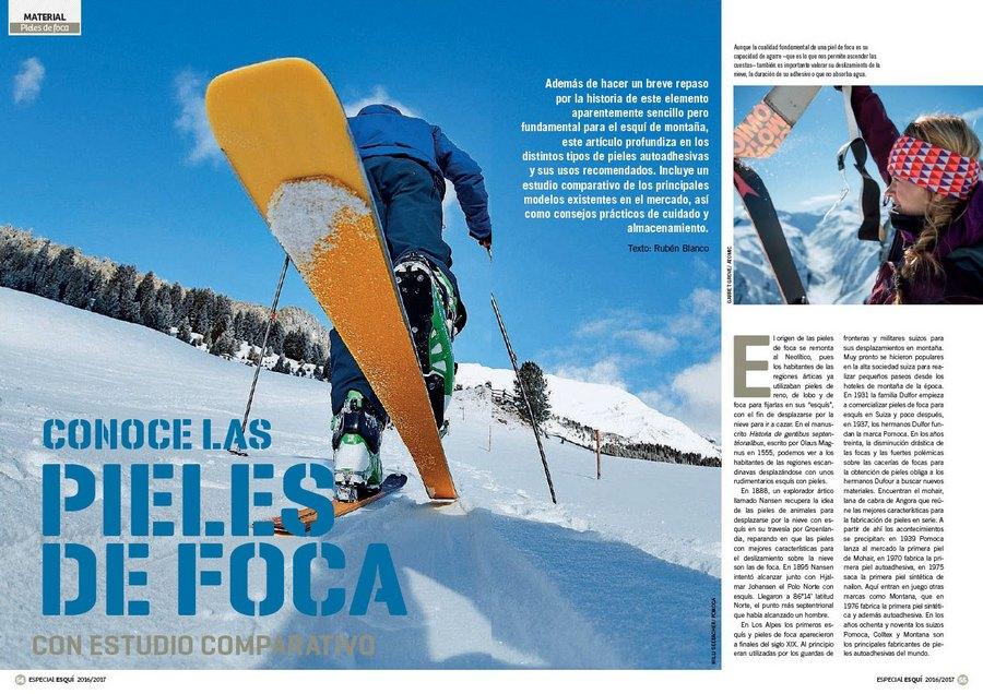 b5cd75b75f5 Apertura del artículo `Conoce las pieles de foca` dentro del nº 365  Especial esquí