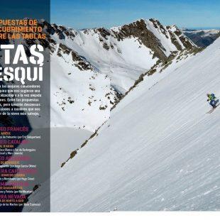 Apertura del artículo 6 rutas de esquí dentro del nº 365 Especial esquí de montaña 2016/2017.  ()