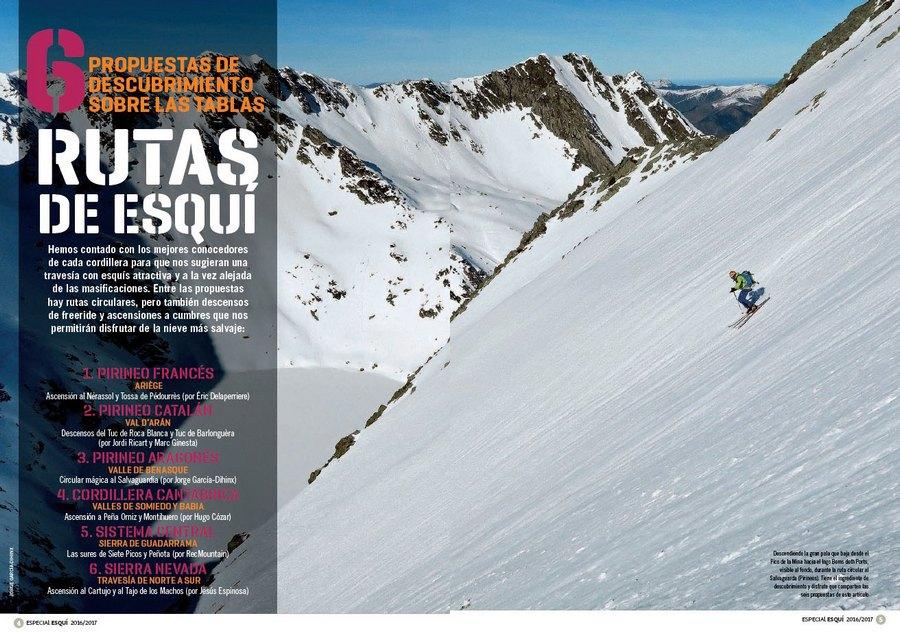 a8b490b8076 Apertura del artículo 6 rutas de esquí dentro del nº 365 Especial esquí de montaña  2016