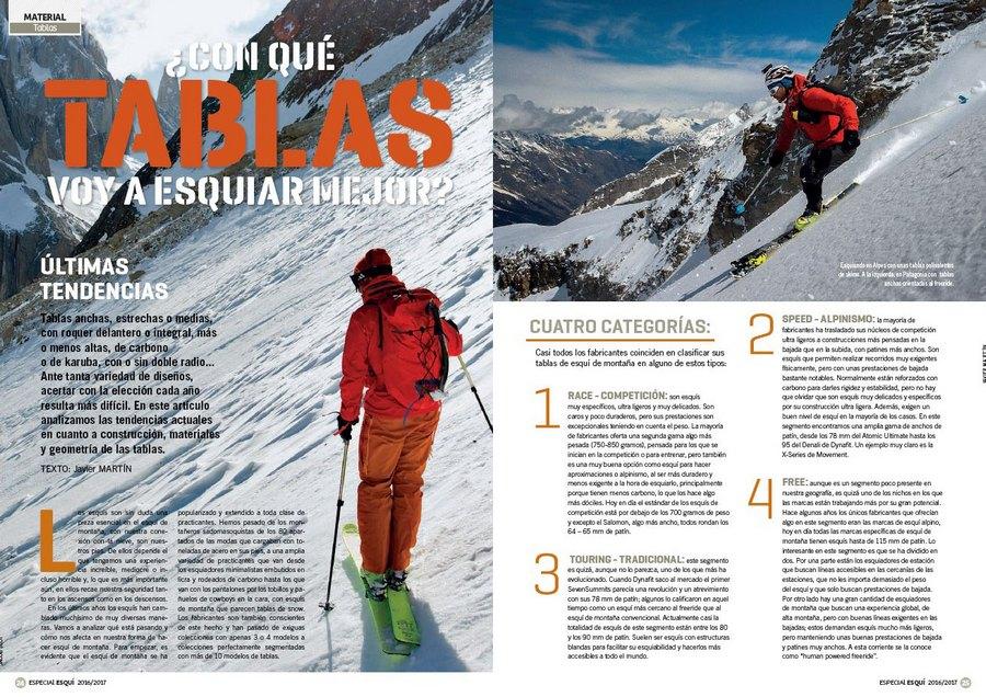 e951c8c7047 Apertura del artículo ¿Con qué tablas voy a esquiar mejor? dentro del nº 365