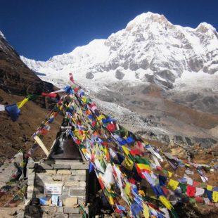 Vista del Annapurna, el ochomil con mayor porcentaje de muertes