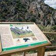 Panel indicativo en un observatorio del Parque Nacional de Monfragüe  ()