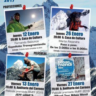 Cartel de las jornadas de montaña en Sangüesa 2017  ()
