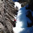 Dani Ascaso en Cascata da Pino (155 m