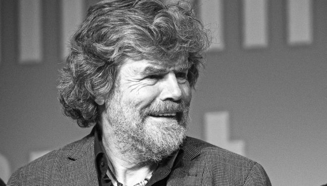 Reinhold Messner en el International Mountain Summit 2014.