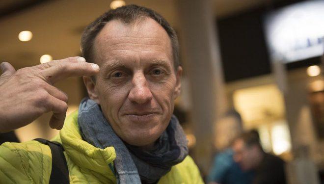 Denis Urubko en el Festival de cine de Montaña y Literatura de Banff 2016.  (?©Darío Rodríguez/DESNIVEL?)