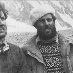 Erich Abram y Walter Bonatti