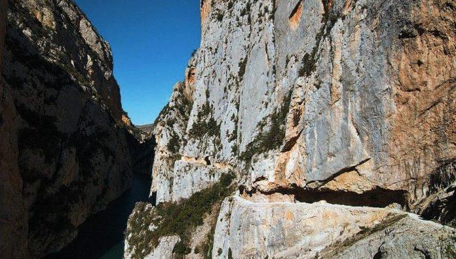 En primavera se limitará el acceso al estrecho de Mont-Rebei en días punta  ()