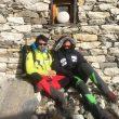 Momento de descanso en Dingbochen