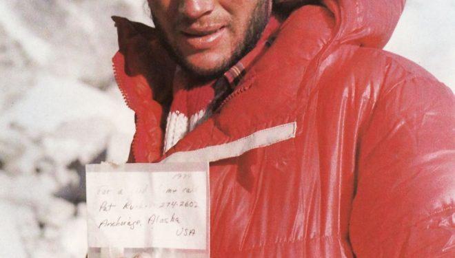Leszek Cichy en el Everest (invierno 1980)