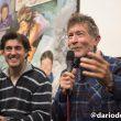 Carlos Soria (y Carlos Suárez en segundo plano) en la presentación de su biografía en la Librería Desnivel