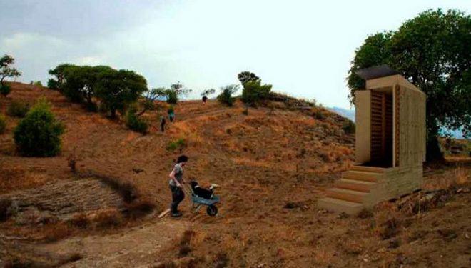Proyección del prototipo final de los eco-toilets  ()