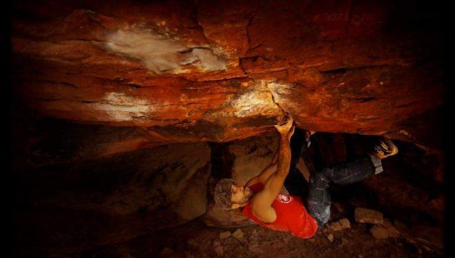 Rubén Díaz en La teoría del todo 8C de Albarracín  (Foto: Yeti)