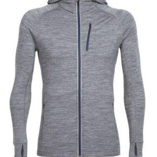 Mens Quantum Long Sleeve Zip Hood  ()