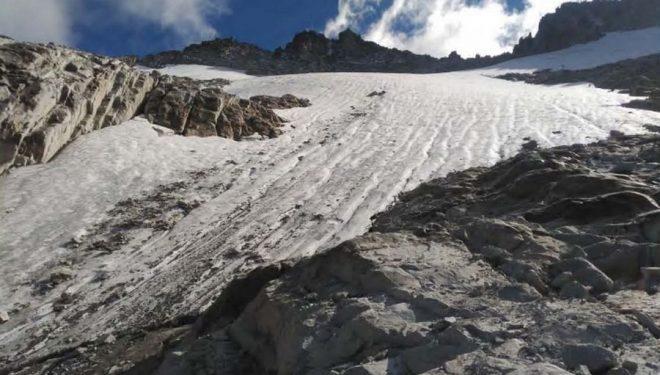 Parte baja del glaciar de La Madaleta  ()