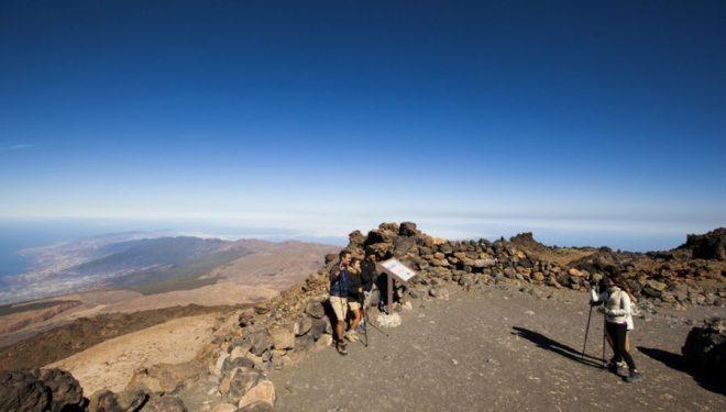 Una de las imágenes que dejó el Tenerife Walking Festival 2016  ()