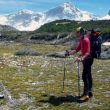Integrantes del equipo esloveno durante la aproximación al Cerro San Lorenzo (Patagonia Argentina) donde abrieron No Siesta (ED+