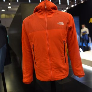 Chaqueta Ventrix de The North Face en ISPO 2017  (Desnivelpress)