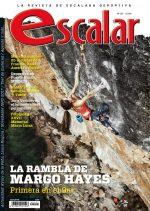 Portada de la revista Escalar nº 107. Primer 9a+ femenino. Abril 2017. ()