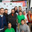 Organizadores y participantes en la primera prueba Liga Galega de Clubes 2017  (Jesús Arcelle)