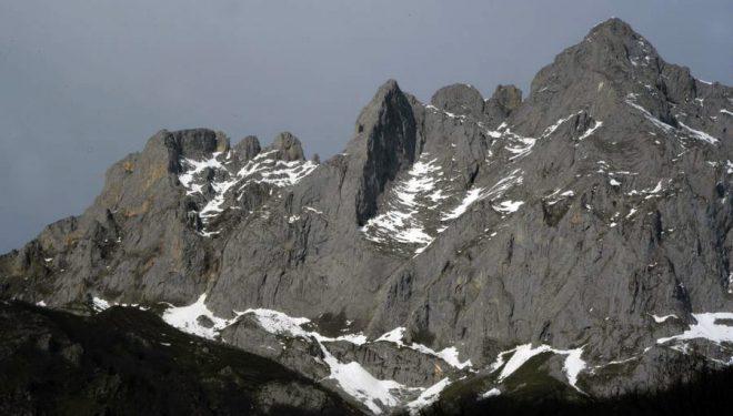 Espolón del Jiso. Macizo Oriental de Picos Europa.  (©Darío Rodríguez)