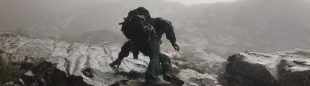 ?Miembros del GREIM de Potes ayer en el Jisu durante las labores de búsqueda de los escaladores zamoranos accidentados.? ()