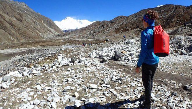 Núria PicasNúria Picas, durante su aclimatación para el Makalu