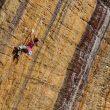 Angie Scarth-Johnson en Gods own stone 8b+ de Red River Gorge  (Col. A. Scarth-Johnson)