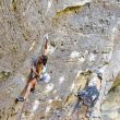 Angie Scarth-Johnson en Lucifer 8c+ de Red River Gorge  (Foto: Melissa Mooney)