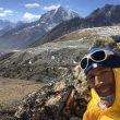 Herve Barmasse entrenando en Nepal para el Shisha Pangma 2017  (©Herve Barmasse)