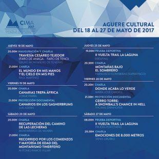 Cartel de la II Semana Internacional Lagunera de Montaña 2017  ()